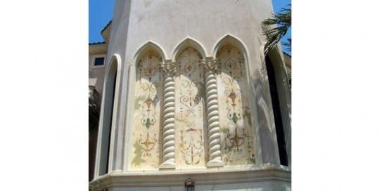 Exterior Venetian plaster