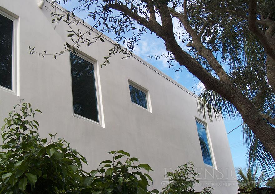 Exterior with white italian lime plaster dimensions plaster How to plaster a house exterior